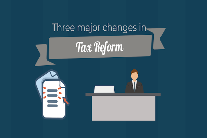 Three Major Changes In Tax Reform