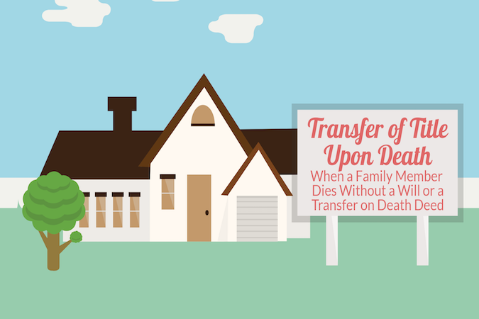 Transfer Of Title Upon Death: When A Family Member Dies Without A Will Or A  Transfer On Death Deed